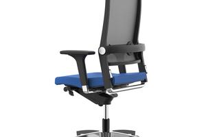 Grundlage einer körpergerechten Haltung im Büro ist ein ergonomisch geeigneter Stuhl