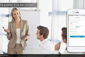 Auch für die Gebäudenutzer werden Smartphone-Apps das Leben wesentlich komfortabler gestalten
