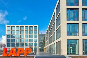 Die neue Europazentrale der Lapp Gruppe in Stuttgart-Vaihingen