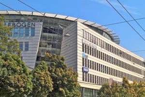 Sitz der Pioneer Investments Kapitalanlagegesellschaft mbH in der Münchner Innenstadt – hier arbeiten 150 Mitarbeiter auf 3600m² attraktiv eingerichteter Bürofläche