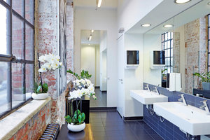 Richtig geplant, werden neu ausgestattete Waschräume zum modernen und nachhaltigen Highlight im Gebäude