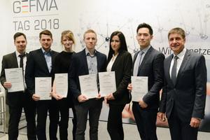 Sechs aufstrebenden Newcomern im FM wurden in diesem Jahr die GEFMA-Förderpreise 2018 verliehen. Prof. Dr. Markus Lehmann, GEFMA-Vorstand und Vorsitzender der Jury, gratulierte den diesjährigen Preisträgern