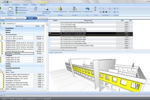 BIM-Modelldaten lassen sich vielfältig nach Mengen-, Kosten-, Material-, Ressourcen- oder Zeitkriterien auswerten
