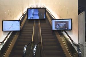 Durch die Anbindung von Aufzügen und Rolltreppen an die Cloud lassen sich Ausfallzeiten deutlich reduzieren, wie Kone auf dem IBM-Messestand zeigte