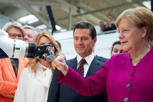 Bundeskanzlerin Angela Merkel und Mexikos Präsident Peña Nieto am Eröffnungstag der Hannover Messe<br />