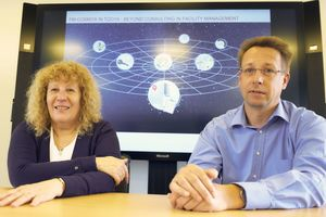 Dr. Sigrid Odin, geschäftsführende Gesellschafterin und Janke Papenfuß, Mitglied der Geschäftsleitung