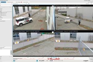 Die Überwachungsbilder kann sich der Nutzer auf verschiedenen Endgeräten anzeigen lassen