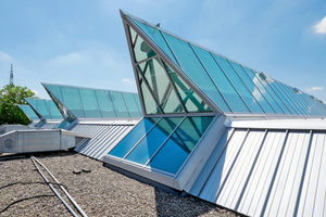 Im Glaspalast wurden für mehr Energieeffizienz und Lichtqualität neue Glas-Elemente realisiert