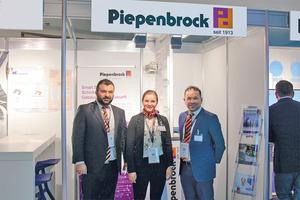 Erdal Sancar, Lynn Kupczyk und Mahmut Tümkaya informierten über digitale Lösungen im Gebäudebetrieb