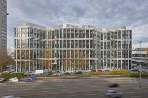 """Seit 2016 ist """"The Grid"""" wie das Gebäude genannt wird, die Konzernzentrale von DB Schenker in Essen"""
