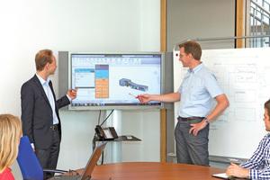 Zu den vielen Veränderungen gegenüber der zeichnungsorientierten Arbeitsweise gehören gemeinsame Besprechungen am BIM-Modell, …