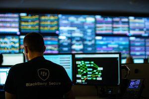 BlackBerry Network Operations Center in Waterloo, Kanada: Wird ein Gerät gestohlen oder geht verloren, können Unternehmensdaten innerhalb kürzester Zeit gesperrt oder komplett gelöscht werden