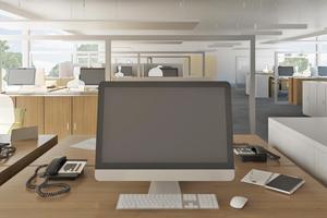 Die Auralisation von Büroräumen ermöglicht Hörvergleiche unterschiedlicher akustischer Szenarien