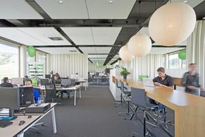 Das Basecamp bietet ein durchdachtes Arbeitsplatzkonzept