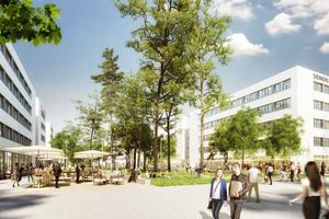 """Die Siemens AG errichtet im Süden der Stadt Erlangen bis 2030 den modernen und nachhaltig gestalteten """"Siemens Campus Erlangen"""""""