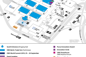 Aufgrund der starken Aussteller-Nachfrage aus dem In- und Ausland stellt die Messe Berlin zusätzliche Ausstellungsfläche (Halle 6.2b) auf dem Berlin ExpoCenter City zur Verfügung