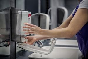 Besonders wichtig war die Ausstattung der Kitas mit den richtigen Waschraumprodukten
