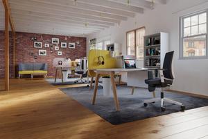 An moderne Büros und deren Ausstattung werden völlig neue Anforderungen gestellt. Sie müssen ebenso flexibel sein wie die Menschen, die darin arbeiten