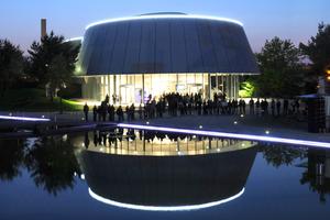 Der Audi Pavillon wurde als eines der ersten Gebäude analysiert