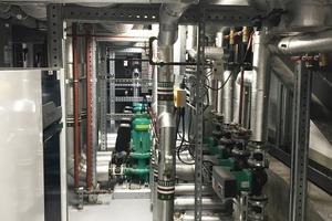 Die verbauten Wilo-Pumpen leisten einen wesentlichen Beitrag zur Gesamteffizienz der neuen Zentrale – von Heizung und Kühlung über Kaltwasserversorgung bis hin zu Produkten für die Regenwassernutzung