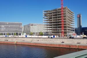 Der cube berlin verbindet als Smart Commercial Building Architektur, Atmosphäre und Technologie mit IT und Intelligenz