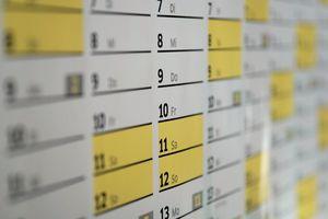 Das Coranavirus und die Folgen: Besonders im Juni,&nbsp; September und Oktober werden die Nachholtermine für verschobene Messen stattfinden<br />