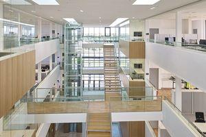 """<irfontsize style=""""font-size: 7.000000pt;"""">Offene Architektur im Bürogebäude der DSV Air &amp; Sea GmbH in Krefeld</irfontsize>"""