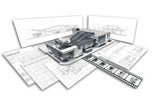 Die automatische Ableitung von Plänen, Visualisierungen, Mengen, Stücklisten, Kosten oder LVs sind nur einige Beispiele für die zahlreichen Vorteile von BIM