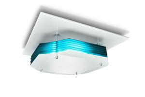Wand- und Deckenleuchten zur UV-C-Desinfektion der Luft