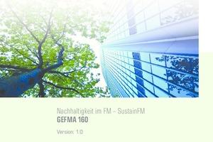 Vorstandsmitglied Robin Petersen stellte in der digitalen Veranstaltung u.a. die Version 1.0 der GEFMA 160: Nachhaltigkeit im FM - SustainFM vor