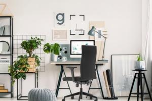 """Damit Arbeitgeber ihren Mitarbeitern innerhalb kürzester Zeit einen ergonomischen Bürodrehstuhl am heimischen Arbeitsplatz zur Verfügung stellen können, hat die Dauphin HumanDesign Group für ihre Stuhlmarke Trendoffice die Aktion """"Work it: easy! at home"""" konzipiert"""