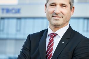 Udo Jung, Geschäftsführer der Trox GmbH