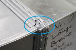Undichte Luftleitungen können auf ihrem Weg kontaminierte Luft verlieren, bevor diese die Filtereinrichtungen des Abluftgeräts erreichen