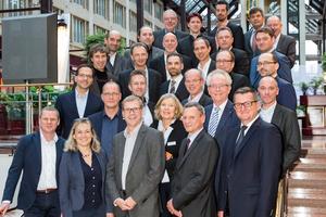 Teilnehmer des CAFM-Herstellertreffens 2016 in Köln