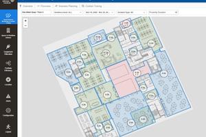 Report zur Kontaktverfolgung: Das System liefert grafische Auswertungen zur Steigerung der Infektionsresilienz von Gebäuden