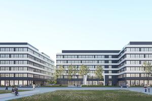 Zusammen mit dem neuen Sitz der Frankfurter Siemens-Niederlassung entstehen attraktive Büroflächen für den externen Markt