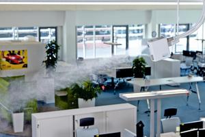 Luftbefeuchter schützen vor Atemwegsinfektionen und Stimmbelastungen