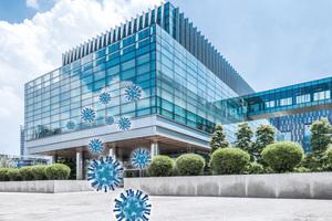 Gebäude können in Zukunft besser vor Viren schützen