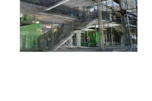 3D-Punktwolke des Scans der Westfälischen Hochschule