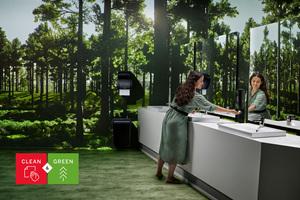 Das Katrin Waschraumkonzept wurde entwickelt, um den unterschiedlichen Hygieneanforderungen in niedrig- bis hochfrequentierten Waschräumen nachzukommen