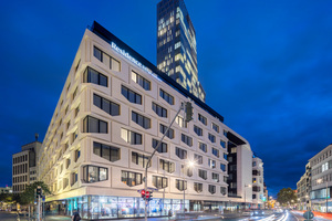 Das Flare ist eine von sechs Liegenschaften, die Spie künftig in Frankfurt für die RFR Gruppe betreibt