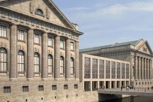 Das Pergamonmuseum auf der Berliner Museumsinsel ist Teil des UNESCO-Weltkulturerbes und stellt aufgrund seiner historischen Bausubstanz und dem Denkmalschutz besondere Anforderungen an die technischen Umbauarbeiten<br />