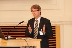 Dipl.-Ing. Richard Weller erläuterte warum Teamwrok und Planung und Betrieb von enormer Wichtigkeit