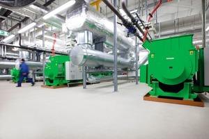 Seit Anfang April dieses Jahres deckt das neue Blockheizkraftwerk einen Teil des Energie-Grundbedarfes an Strom und Wärme für die rund 1200 Betten der Uniklinik Köln<br />