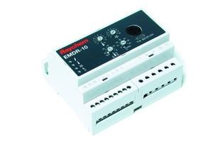 """Die Steuereinheit """"EMDR-10"""" bietet eine kombinierte Temperatur- und Feuchtigkeitserfassung und schaltet das Dachrinnen-Heizband nur bei akuter Gefahr ein<br />"""