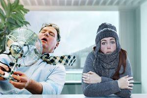 Menschen nehmen klimatische Bedingungen in Räumen generell unterschiedlich wahr