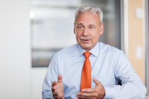 Ralf Hempel, Vorsitzender der Geschäftsführung der Wisag Facility Service Holding