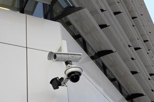 Videokamera im Außenbereich