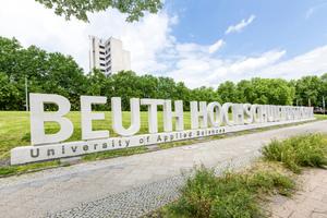 Schriftzug der Beuth Hochschule für Technik Berlin