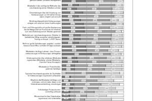 Erfolgsfaktoren des Managements von kontinuierlichen Verbesserungsprozessen